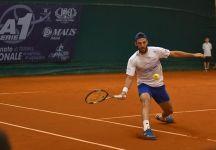 Challenger Ostrava: Travaglia e Cecchinato in semifinale. Napolitano fermato dalla pioggia. Fuori Bolelli (Video)