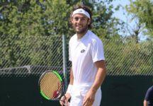 """Wimbledon – Stefano Travaglia: """"In vita mia, non avevo mai giocato prima sull'erba. Insomma non l'avevo mai vista così da vicino. """"Con tutti gli infortuni che ho avuto pensavo di dover smettere, ora invece mi sento più forte"""""""