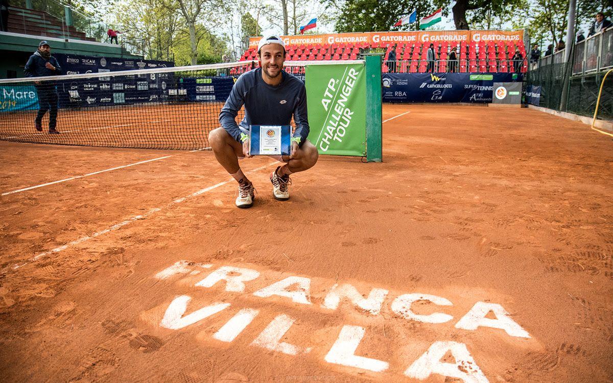 Stefano Travaglia, vincitore 2019 - Foto Marta Magni
