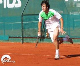 Stefano Travaglia, nato il 28 dicembre 1991, n. 473 della classifica mondiale.