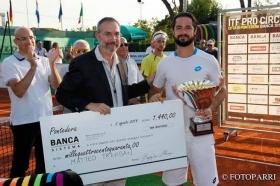 Matteo Trevisan vincitore della scorsa edizione