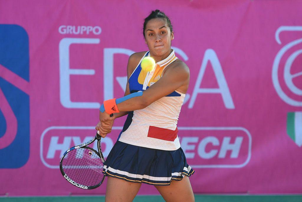 Martina Trevisan, fiorentina classe 1993, è fra le favorite per il titolo del Trofeo Cpz, già vinto nel 2016 (foto San Marco)