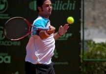 Challenger Trani: Matteo Trevisan vola ai quarti di finale. In oltre due ore di gioco, regola Del Bonis sulla distanza