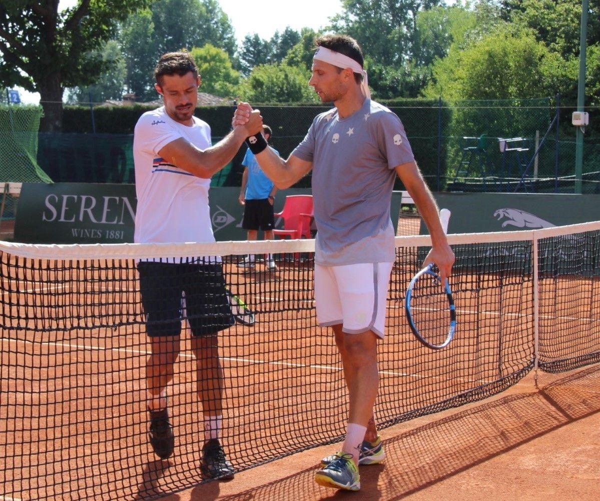 Walter Trusendi e Christian Rodriguez (Foto Monti)