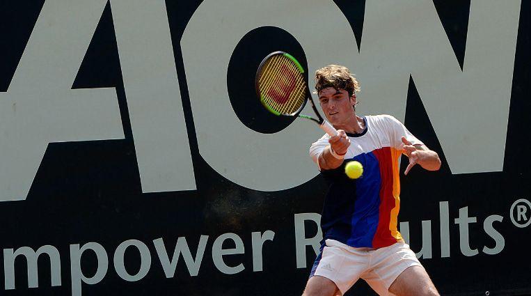 Stefanos Tsitsipas classe 1998, n.161 ATP - Foto Paolo Cresta