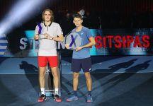 """Next Gen ATP Finals: Brilla la stella di Stefanos Tsitsipas """"È una sensazione bellissima, ho giocato un grande tennis qui a Milano questa settimana"""" (Con il video della Finale)"""