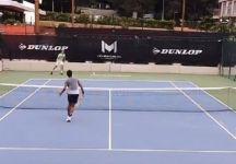 Allenamenti intensi per Stefanos Tsitsipas e Felix Auger Aliassime (Video)