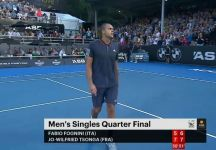 Fognini sconfitto da Tsonga nei quarti di finale di Auckland (Video)