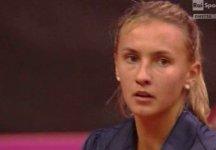 Fed Cup – Italia vs Ucraina 2-2: Lesya Tsurenko supera Sara Errani per ritiro