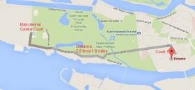 Le distanze del torneo di San Pietroburgo