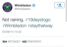 Gli Slam si parlano via Twitter: Wimbledon prende in giro il Roland Garros che chiede aiuto agli Australian Open
