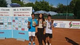 I vincitori del torneo di doppio