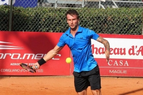 Adrian Ungur, 31 anni da Pitesti (Romania), si è rivelato fondamentale nel match che ha regalato al Tc Crema la semifinale di Serie A1