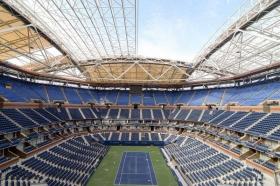 Us Open: Il tetto dell'Arthur Ashe ormai è pronto