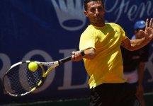 Challenger Sibiu: Simone Vagnozzi spreca ben quattro palle set consecutive nel primo parziale e viene punito da Adrian Ungur