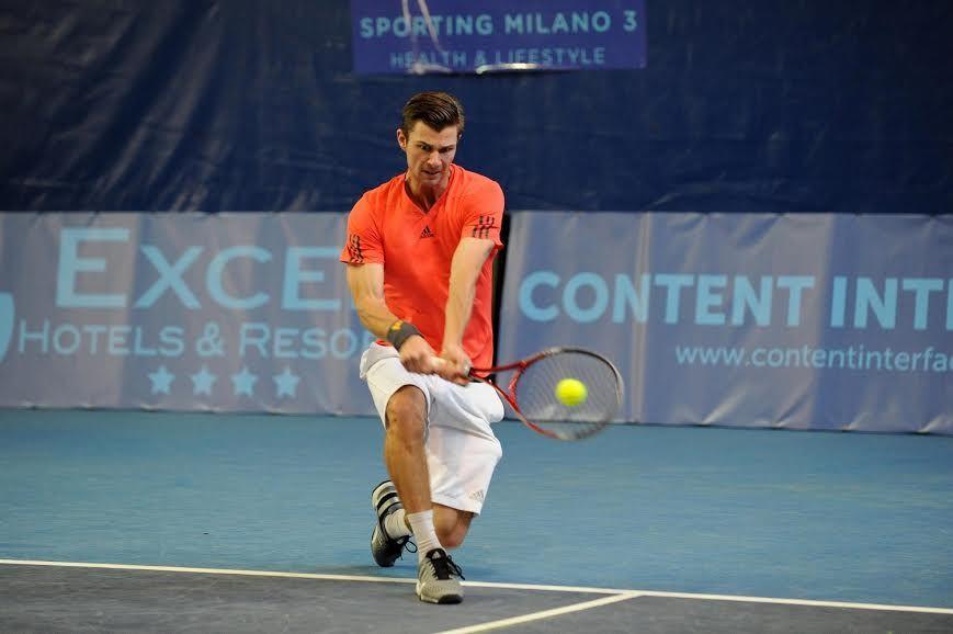 L'olandese Antal Van Der Duim, vincitore della prima edizione dell'Excel Futures, torna allo Sporting Milano 3 per difendere il titolo - Foto Panunzio