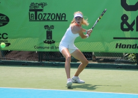 L'olandese Indy De Vroome ha battuto la testa di serie numero 8, la serba Kostic