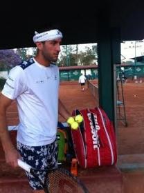 Luca Vanni classe 1985,  n.100 ATP