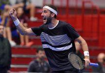 Challenger Brescia: Luca Vanni vince una incredibile finale. L'azzurro annulla una palla match a Grigelis e conquista la partita al tiebreak del terzo set per 10 punti a 8 (Video)
