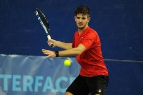 Andrea Vavassori, 20 anni da Pinerolo (Torino), ha ricevuto una wild card per il main draw del Trofeo Città di Sondrio