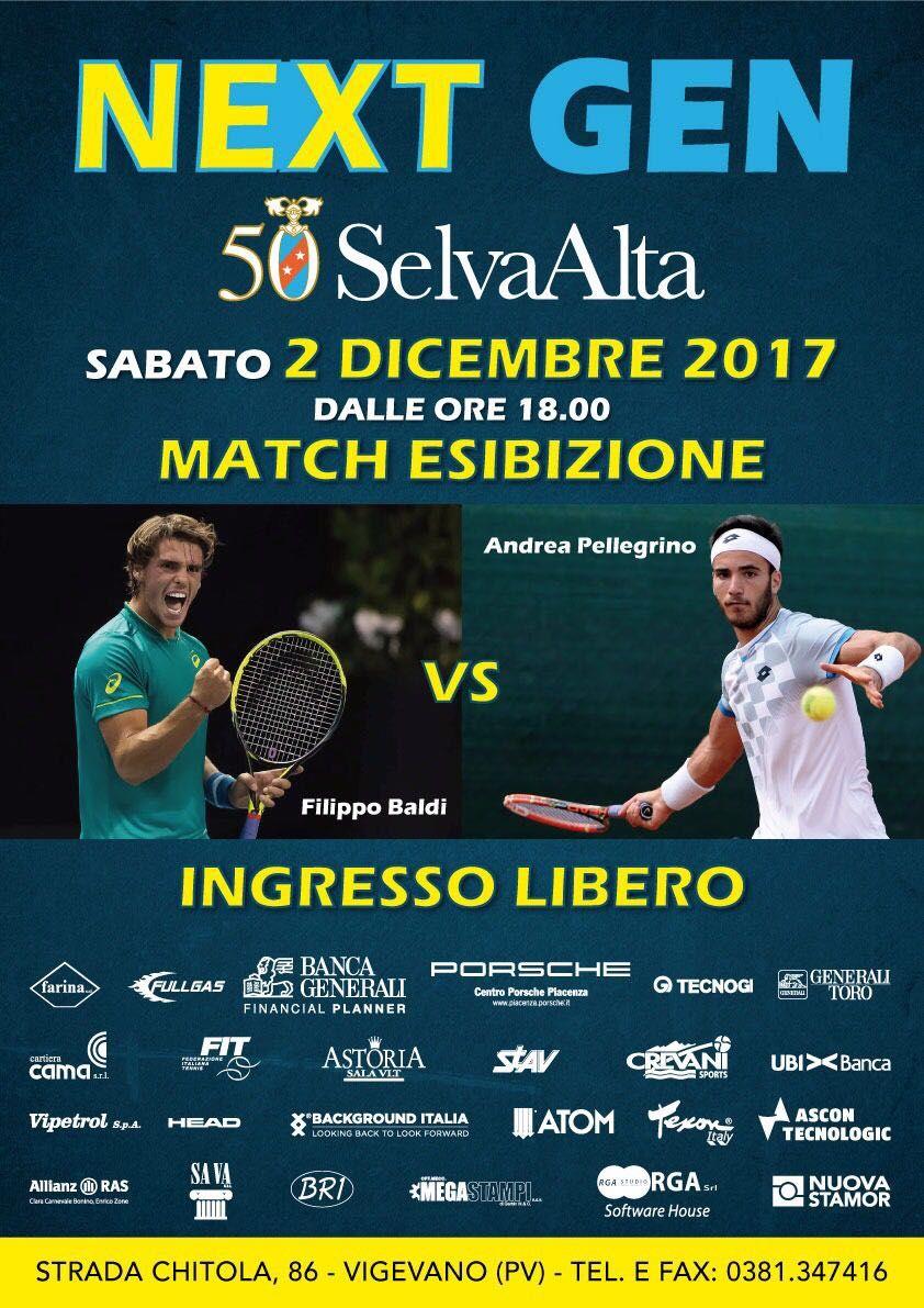 Match tra Baldi e Pellegrino a Vigevano
