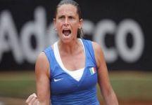 Fed Cup – Finale Italia vs Russia 1-0: Eroica Roberta Vinci, che con dei problemi al collo, batte per 8-6 al terzo set Alexandra Panova, dopo aver annullato 4 match point