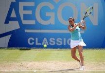 WTA s'Hertogenbosch: Roberta Vinci eliminata nei quarti di finale. Kim Clijsters si ritira. Urszula Radwanska è in finale