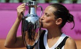 Roberta Vinci vittoriosa a Barcellona