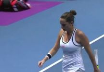 Roberta Vinci combatte e supera il prino turno del Wta Premier di San Pietroburgo. Superata la magiara Babos in tre set