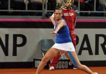 Fed Cup – Semifinale Italia vs Rep. Ceca 3-1: Roberta Vinci regala il punto decisivo all'Italia che vola in Finale. A novembre sfideremo in casa la Russia