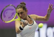 Roberta Vinci sconfitta in due set dalla francese Mladenovic nei quarti di finale del wta Premier di San Pietroburgo