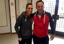 """Roberta Vinci si allena allo Junior: """"Un esempio per i nostri giovani"""""""