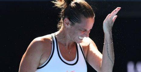 Roberta Vinci, sconfitta in due rapidi set dalla russa Blinkova