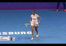 Una smagliante Roberta Vinci supera in due set la ceca Martincova e accede al secondo turno del Premier Wta di San Pietroburgo
