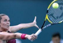 """WTA Lussemburgo: Roberta Vinci accede al secondo turno e fa """"piangere"""" la sua avversaria"""