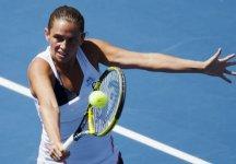 WTA Mosca: Brutta sconfitta per Roberta Vinci. Sconfitta dalla Dushevina in due set