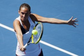 Roberta Vinci impegnata a New Haven