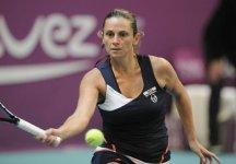 WTA Parigi: La Vinci spreca e si arrende alla Bartoli. L'azzurra era avanti di due break sia nel secondo che nel terzo set
