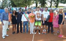Il vincitore ed il finalista del torneo di Manerbio - Foto Felice Calabrò