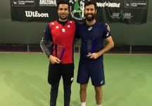 Matteo Viola e Walter Trusendi a segno nel doppio dell'ATP Challenger di Tempe