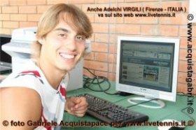 Adelchi Virgili classe 1990, n.1649 del mondo - Foto Gabriele Acquistapace