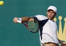 ATP Casablanca: Grave sconfitta di Filippo Volandri che viene eliminato al primo turno dal canadese Filip Peliwo, n.266 ATP