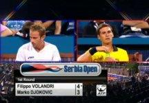 Video del Giorno: Vediamo in azione Filippo Volandri e Marko Djokovic a Belgrado