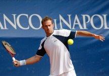 Challenger Napoli – Posillipo: Volandri vince in rimonta contro Lojda. Starace non scende in campo, l'azzurro dà forfait