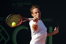 Filippo Volandri, toscano di Livorno, si è qualificato per la finale dell'Aspria Tennis Cup - Foto Francesco Panunzio