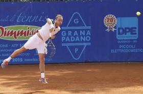 Filippo Volandri semifinalista al Masters 1000 di Roma nel 2007 - Foto Felice Calabrò