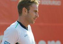 Challenger Todi: Volandri sconfitto in finale da Berlocq. L'azzurro perde netto nel secondo set