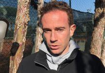 """La nuova vita di Filippo Volandri… """"filo"""" ci  racconta il passaggio da giocatore a responsabile tecnico di Tirrenia"""