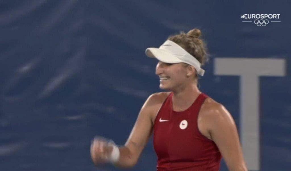 Marketa Vondrousova , numero 42 della classifica WTA