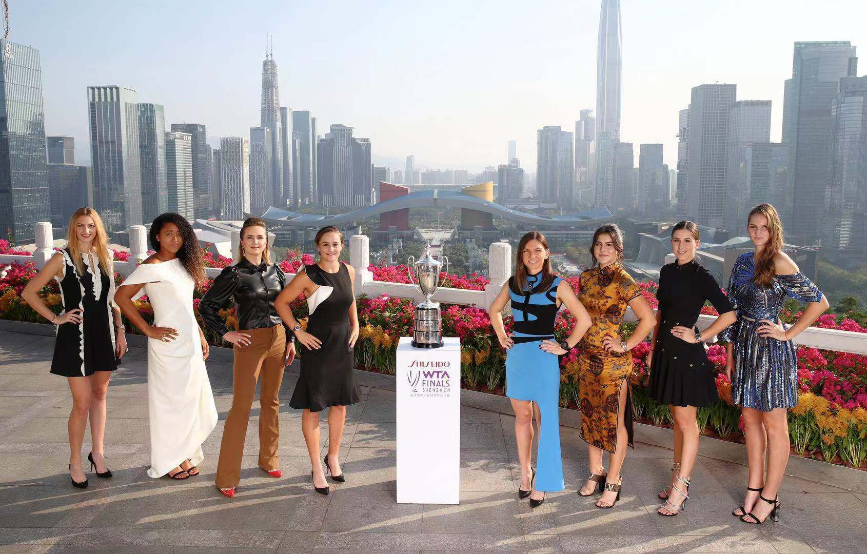 WTA Finals - Shenzhen: Ecco i gruppi di singolare e doppio
